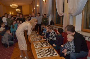 Сеанс одновременной игры от Марии Фоминых, фото