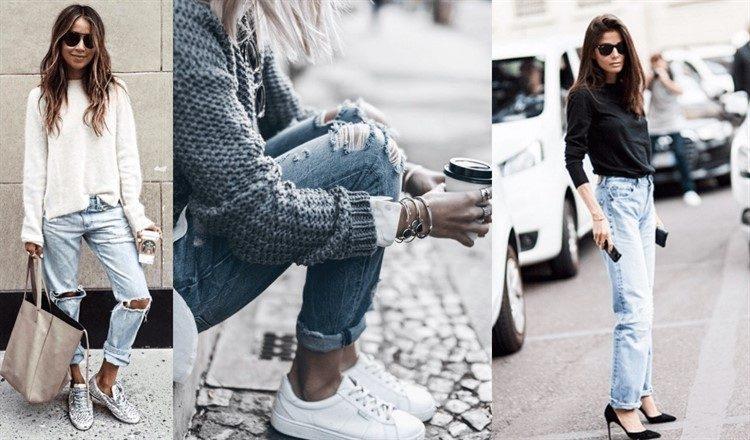 модные женские вязаные свитера осень зима 2017 2018 стильная штучка